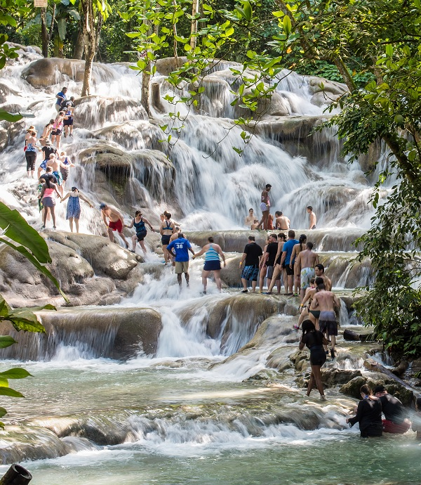 Irie Blue Hole & Dunn's River Falls